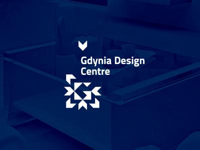 Gdynia Design Centre logo sign corporate identity