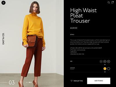 Store Concept flat web minimal design ui