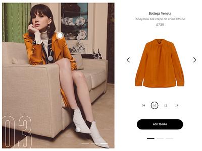 Shop the Look shopify product shop lookbook flat ux store web ui design