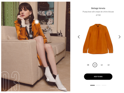 Shop the Look shopify product shop lookbook flat ux store web ui design