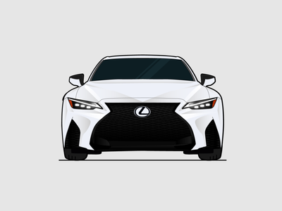 Lexus car 2020 vector illustration design logo lexus dubai car