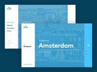 KLM booking process