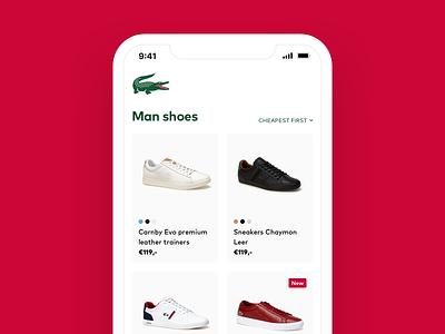 Listing page fashion listing commerce