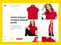 Lacoste product page v2