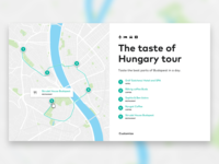 Design of an itinerary