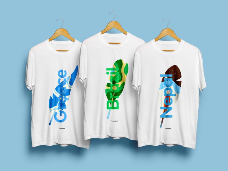 T-shirt design for TravelBird