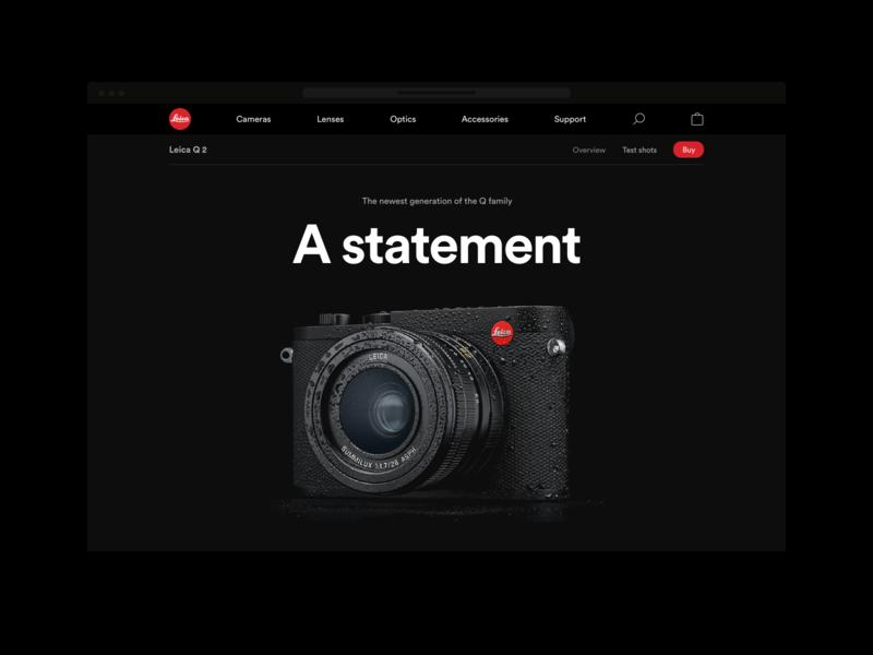 Leica webshop