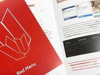 RedMenu pitch booklet