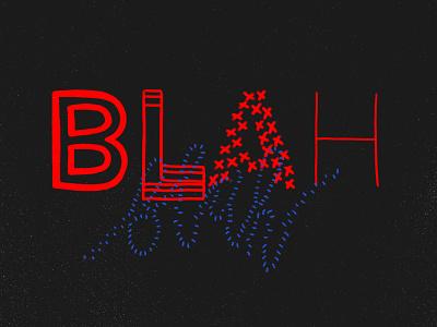 Blah blah blah still texture animator illustrator freelance framebyframe framebyframeanimation celanimation procreate5 ipadpro digitalart rocreate animation illustration type typography