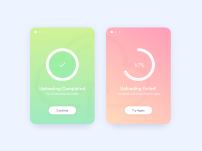 Daily UI Challenge #011 - Flash Messages