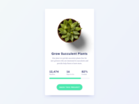 Daily UI Challenge #032 - Crowdfund