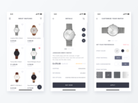 Daily UI Challenge #033 -Product Customize