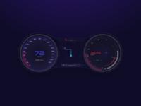 Daily UI Challenge #034 - Car UI