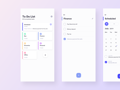 Daily UI Challenge #042 - To Do Notes todo app mobile app daily ui challange ux ui