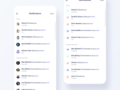 Daily UI Challenge #049 - Notifications notifications mobile app daily ui challange ux ui