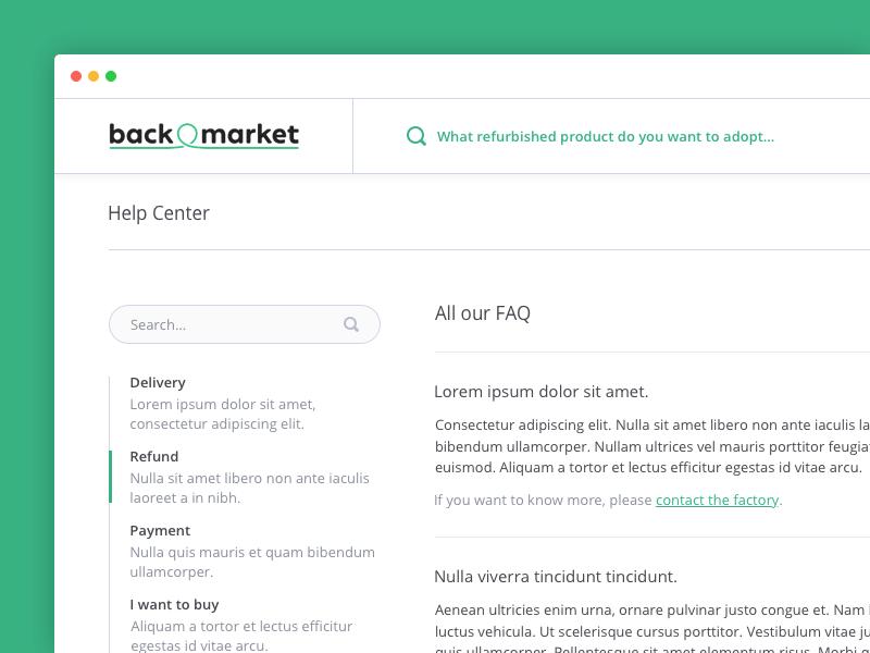 Help Center 1 sidebar suggestion recommendation support menu search desktop faq help center web application app
