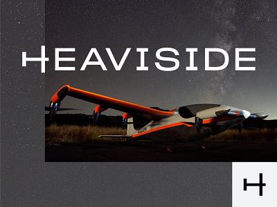 Heaviside by Kittyhawk - Branding [2 of 2] design logotype icon minimal apparel brand tshirt business card tech startup aerospace wordmark logo logo design branding concept wordmark identity branding design logo