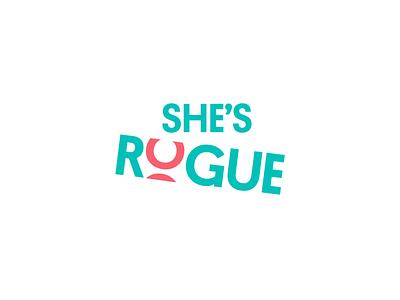 She's Rogue - Branding [1 of 3] illustration art direction logodesign mark adventure outdoor empowerment female empowerment female branding and identity logo animation wordmark identity logo branding design branding