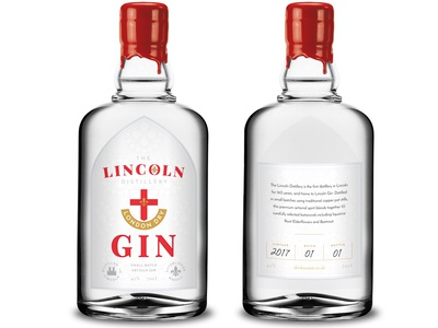 The Lincoln Distillery - London Dry Gin Bottle