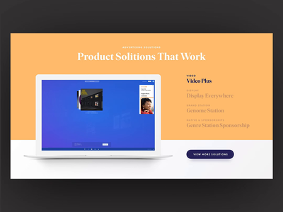 Pandora for Brands - Product Carousel