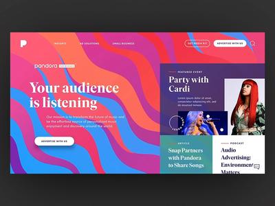 Pandora for Brands - Build In