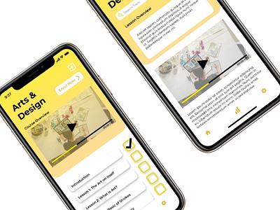 MindPlus Concept [Course & Lesson Overview] ux vector ui typography logo icon design branding app