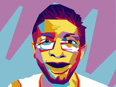vector WPAP popular illustraion illustrator vectorart vector potrait character popart art pop wedha