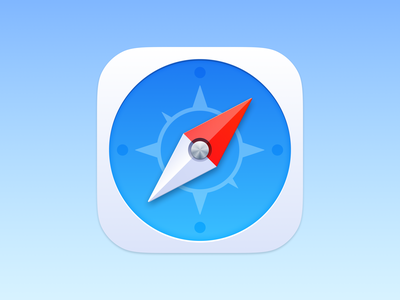 Safari Icon texture metal compass safari app store icon skeuomorphic realistic skeuomorphism icon theme ios14 theme icons ui vector icon