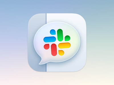 Slack Icons message bubble chat slack replacement icon app macos logo icons theme iphone sketch ui vector icon