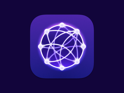 Reflect app tool for thought ios macos app store app icon notes branding logo design iphone theme sketch ui vector icon