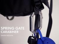 Spring Gate Carabiner