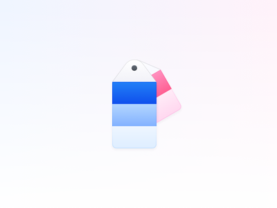 Swatches color swatch palette icon os ui ux sketch shades icons app vector