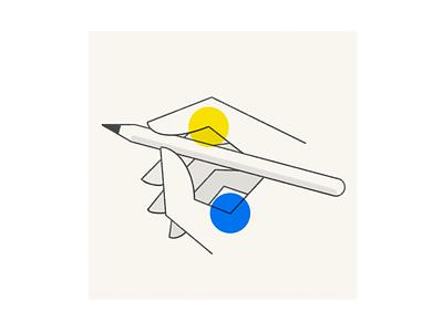 Draw minimal abstract procreate brush texture ipad pro procreate ipad apple design ux sketch ui illustration vector icon