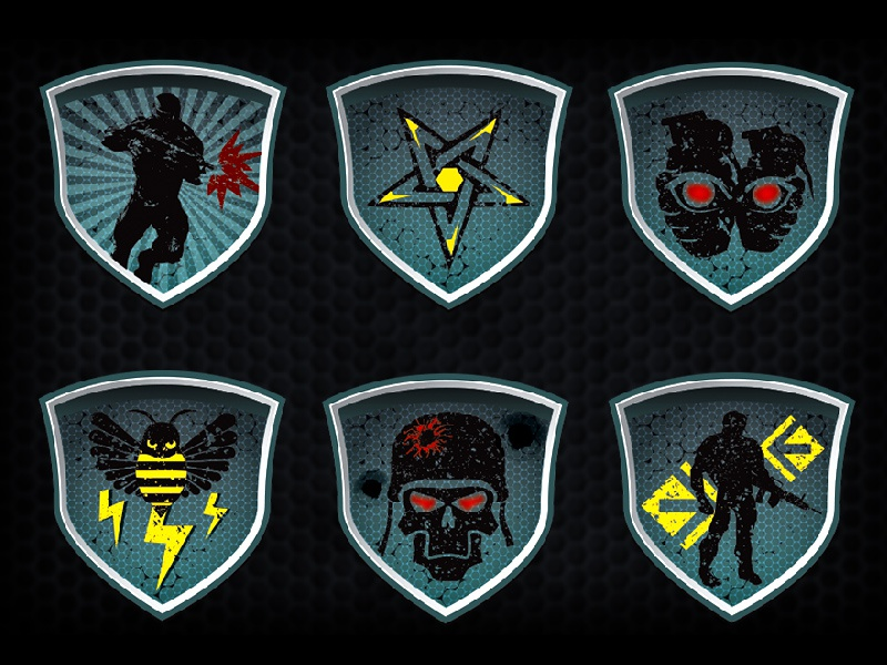 Crysis 2 Badges Ai Freeie By Manlo Ngai Dribbble Dribbble
