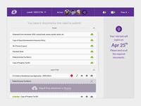 Loan online portal UI