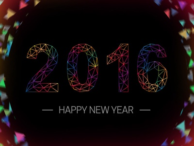 Happy New Year 2016 better versions beta progress 2016 happy new year