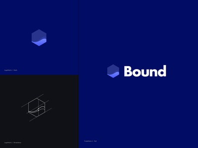 Bound Logomark (Blue)