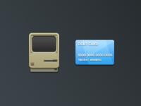 Macintosh and Debit card