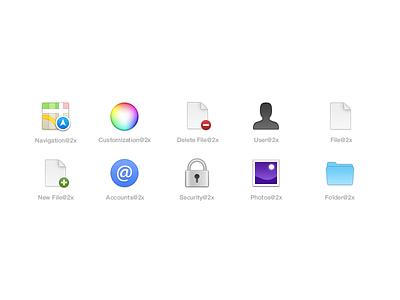 El Capitan #2 osx mac yosemite 32px 64px retina @2x toolbar icons