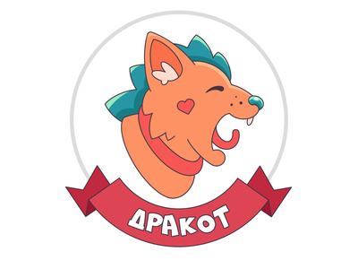Cat icon flat design vector illustration