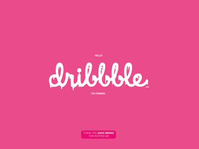 Hello Dribbble! vector illustration icons iconography firstshot art tint