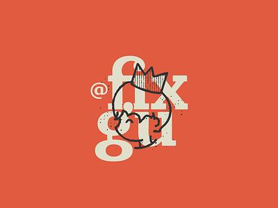 @fixgu - Personal Brand prince mark vector branding fun cute texture illustration logotype logo brand