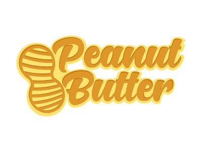 Peanut Butter- Business Logo Design typography logo design websitedesign customizable ui business company companylogo businesslogo uidesign typographylogo website printinglogo logotemplate branding logotype] logos graphic design logo uxdesign