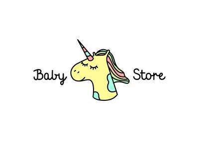 Baby store Unicorn logo