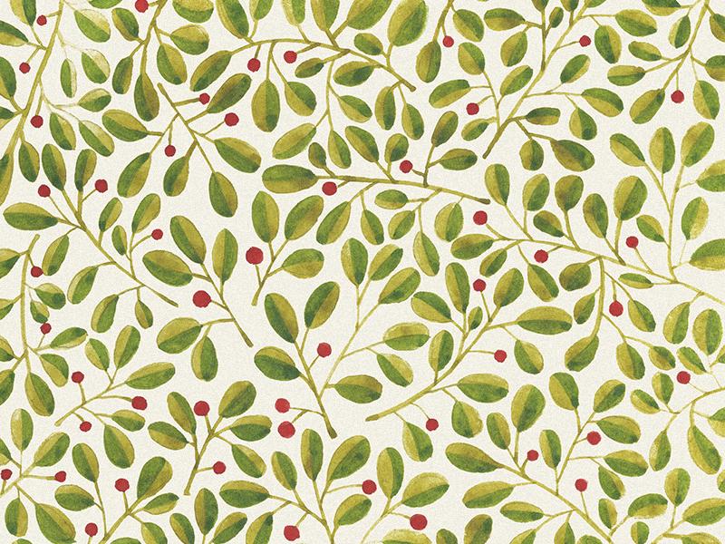 Floral pattern. Berries wallpaper fabrics spring berries leaves green botanical watercolor illustration pattern floral