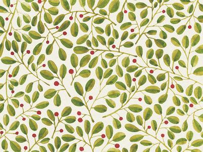 Floral pattern. Berries