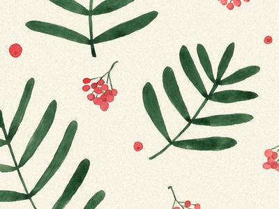 Floral pattern. Rowan
