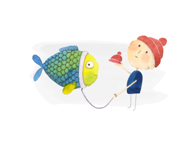 Fish probably will not go with you for a walk