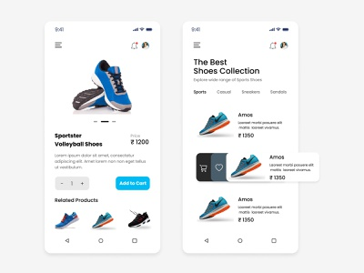E-Commerce UI new 2021 xd figma interface beautiful aesthetic design app branding graphic design deal shopping commerce products shoes book ux ui e-commerce