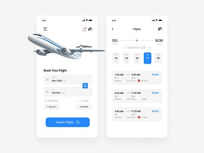 Flight Ticket Booking App 2021 aesthetic order book flight app deign cool latest new trending trend illustrator sketch invision adobe xd figma userexperience userinterface ux ui